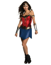 "Batman v Superman Adult Wonder Woman Costume,L,(US 14-16),BUST 40-42"",WST 35-38"""