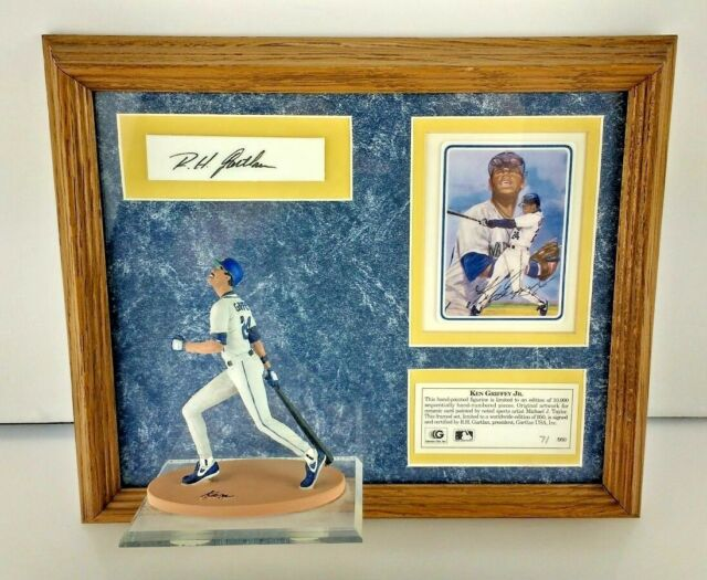Limited Edtion Ken Griffey Jr Handpainted Figurine & Card By M.J. Taylor 7/950