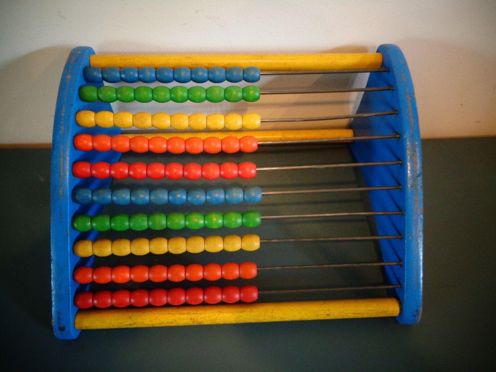 Oldtimer - playskool holz abakus zählen der mathe - spielzeug