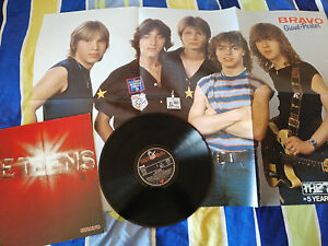THE-TEENS-THE-BEST-OF-5-YEARS-OF-HITS-LP-12-034-VINYL-VINILO-POSTER-GIGANTE-VG-VG
