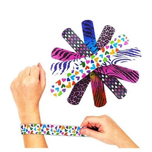 72pcs Schnapp Armbänder Klatscharmband Kinderarmband Mitgebsel Kindergeburtstag