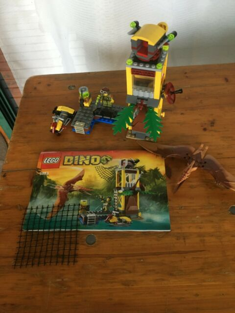 Lego 5883 Dino, Tower Takedown, Pre-Owned, Complete no box.