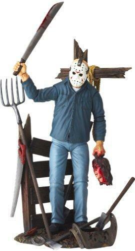 Kb04c Friday the 13th Revoltech SciFi Super Poseable Figure Jason Voorhees