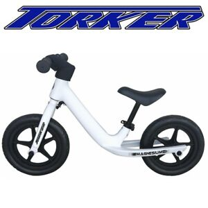 Torker Balance Bike Magnesium - Name Your Own Bike - White