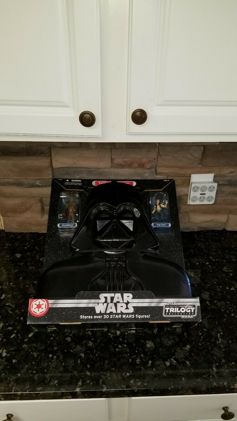 Star Wars Original Trilogy Collection Darth Vader Carying Case