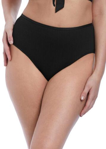 Freya Bikini Slip Nouveau Vita Alta Pantaloncini Slip Bikini Mutandine 6707 Nero