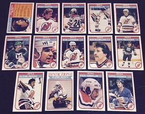 huge discount fb9a5 487f9 Details about 1982-83 OPC NEW JERSEY DEVILS Select from LIST NHL HOCKEY  CARDS O-PEE-CHEE