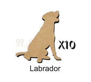 MDF-Shape-Dog-10-Labrador-MDF-cutouts-keyring-5-Sizes-FREE-Hole-DOGW017