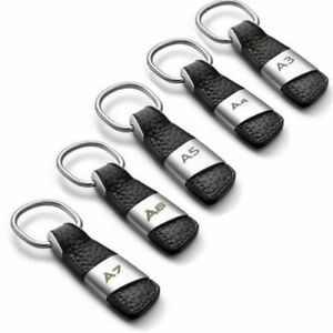 Real-Leather-Key-Chain-Keyring-for-Audi-Q3-Q5-Q7-A3-A4-A5-A6-A7-A8-S3-Sline-Car