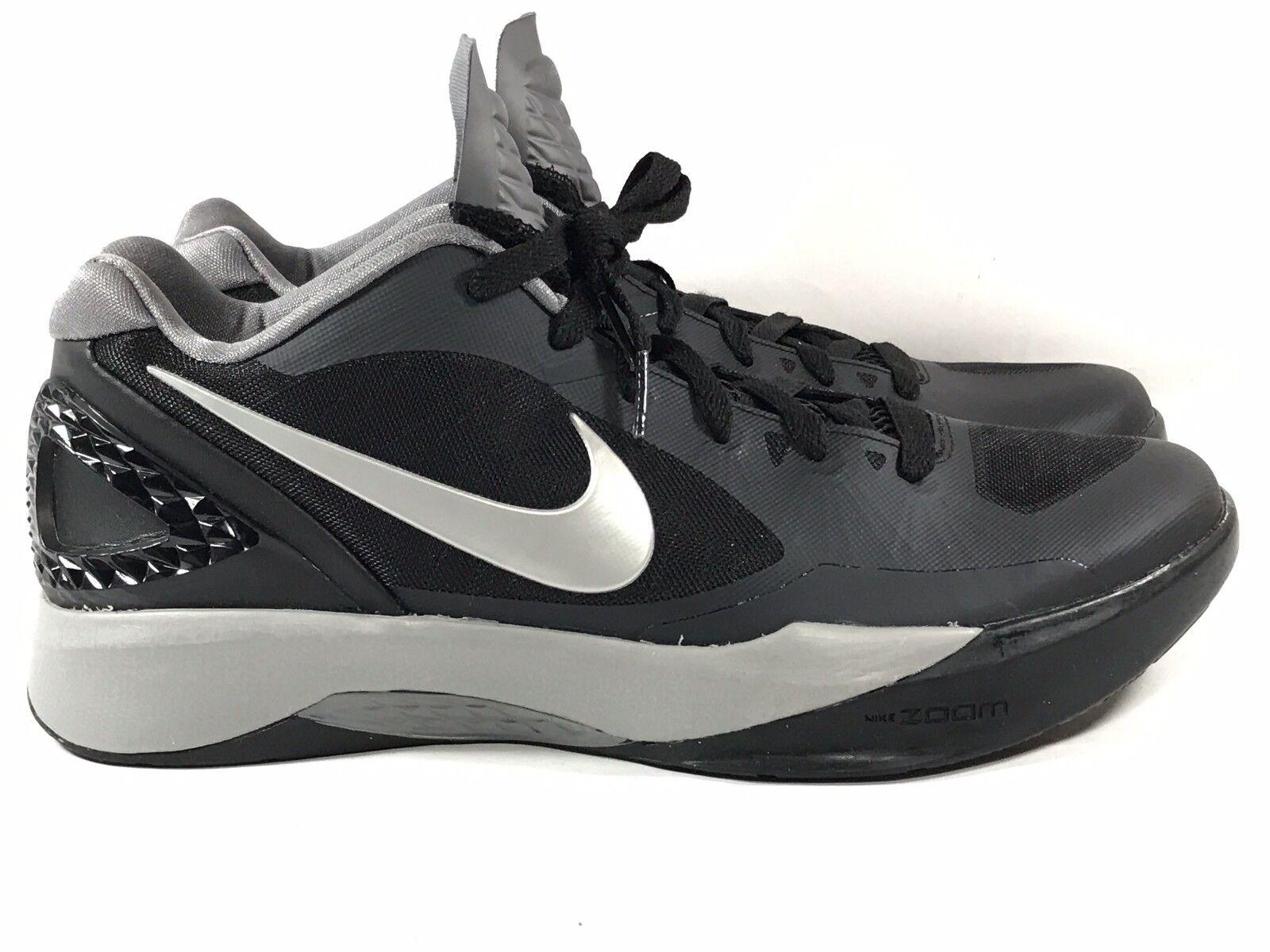 Nike Women's Volley Zoom Hyperspike sz 13 Black Metallic Silver shos 585763-001