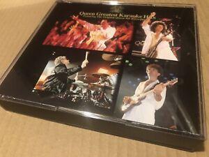 Queen-Greatest-Karaoke-Hits-Rare-Japanese-Double-Cd-Obi-Japan
