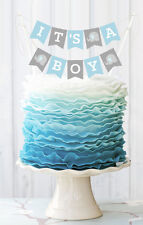 Personalized Baby Shower Cake Bunting Banner Baby Shower Cake Topper