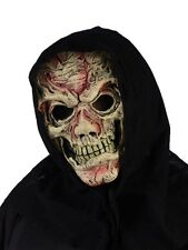 New Flesh Zombie Skeleton Halloween Latex Overhead Mask Adult Fancy Dress P6839