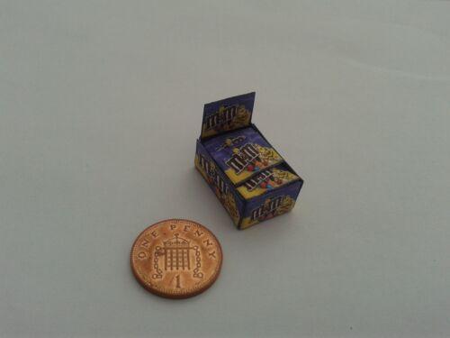 1//12 Scale-Caja De M /& m Peanut Dulces Para Dollshouse Miniatures