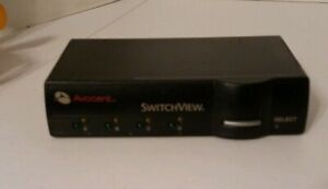 AVOCENT-SWITCH-VIEW-E187794-WITHOUT-POWER-SOURCE-4-PORT-UNIT