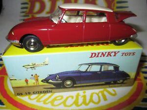 Dinky Toys Atlas 530 Citro/ën DS 19 rouge 1//43