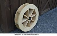 Amish-made 30 Waterwheel - Waterwheels Available In 9 Finishes