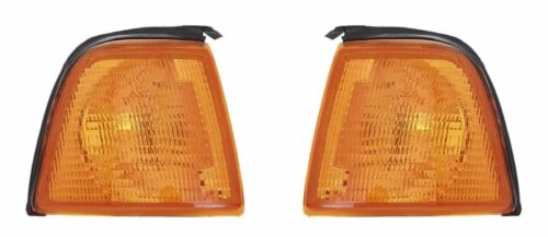 2 CLIGNOTANTS AVANT ORANGE AUDI 80 DESIGN EDITION 06//1986-10//1 89, 89Q, 8A, B3