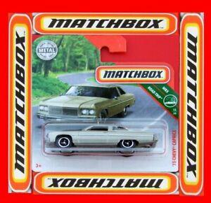 MATCHBOX-2018-039-75-Chevy-Caprice-6-100-neu-amp-ovp