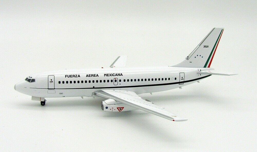 INFLIGHT 200 IF732MAF001 1/200 Messico AERONAUTICA BOEING 737-200 3520 con supporto