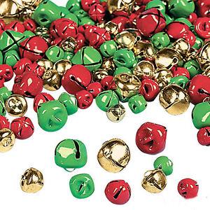 ~ Metal Craft Holiday Bells ~1 Lot 200 Bright Shiny Silver Jingle Bells ~ 25mm