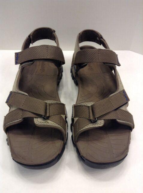 0c4df0580da6 Timberland Eldridge Sandal Gray Grey Leather Men s US 13 M EU 47.5 NIB New  5822A