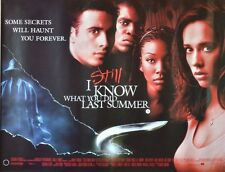 """MOVIE POSTER~I Still Know What You Did Last Summer 1998 30x40"""" British Quad NOS~"""