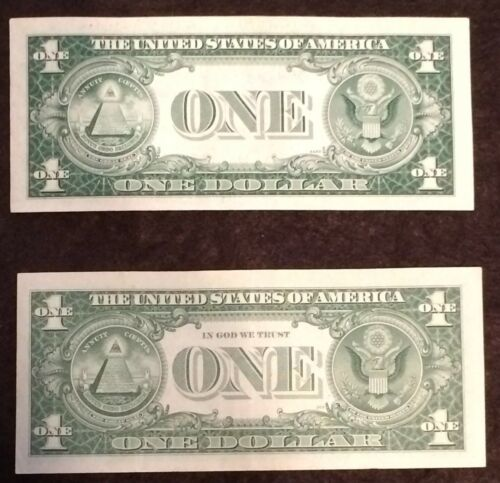 2 NOTE LOT 1935 AND 1957 FREE P//H Silver Certificate AU+ CU condition NICE