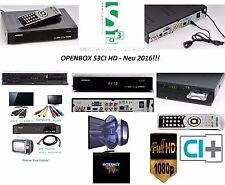Openbox S3CI HD - Neu Modell Ende 2016!!! Sat-IPTV !!! CI+ Vorprogrammiert!!