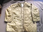 Liner cold weather, parka , size XS, GENUINE U.S. MILITARY ISSUE!!!!!!!