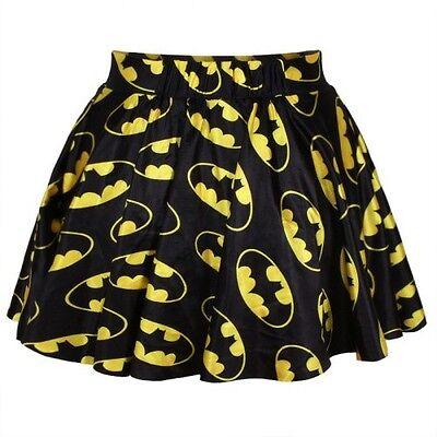 AMAZING BATMAN PLEATED SKIRT NEW! / FALDA NUEVA COMIC BAT MURCIELAGO