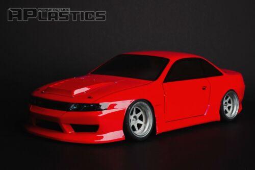RC Body Car Drift Touring 1:10 Nissan Silvia S14 Odyvia style APlastics New