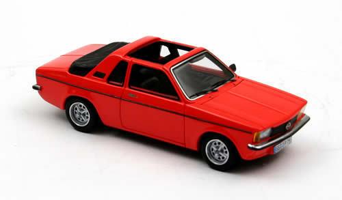 Opel Kadett City C Aero Open ''rouge'' 1978 (Neo Scale 1 43   43075)