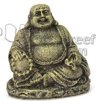 Sitting Buddha Aquarium Mini 2 Aquarium Betta Fish Bowl Ornament Penn Plax