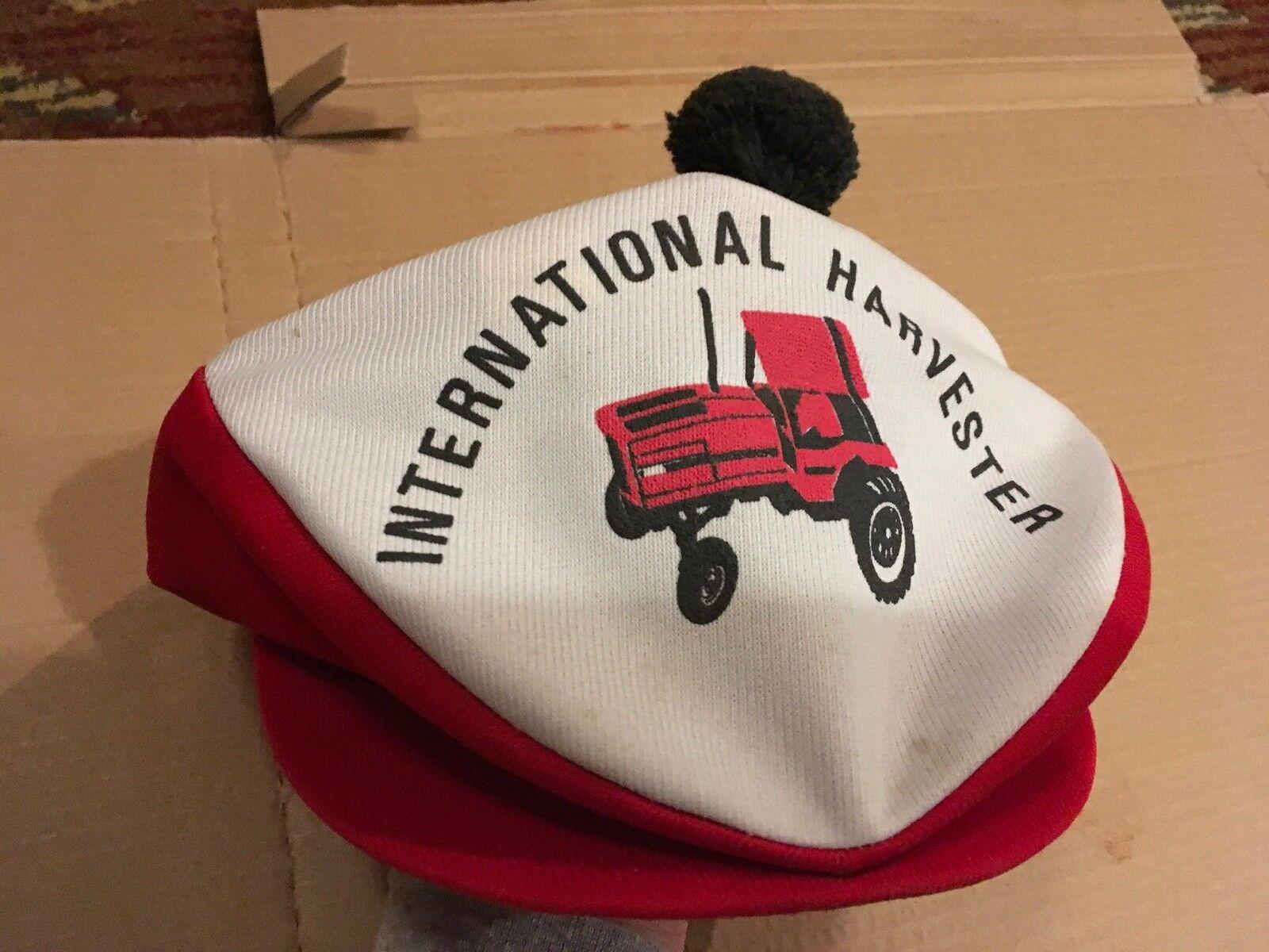 Vintage International Harvester Tartan Tam Cap Re… - image 4