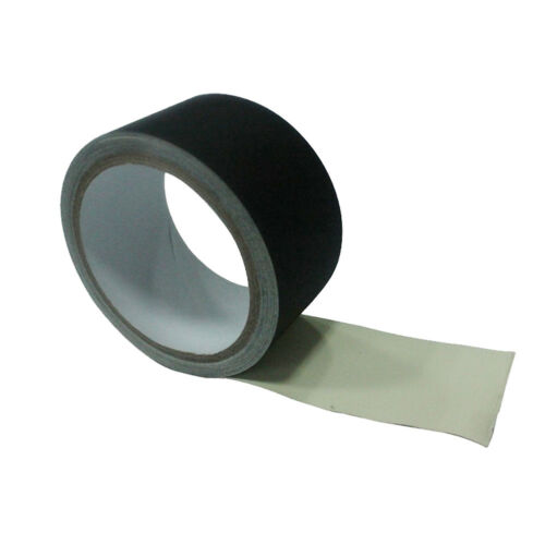 10 Yards Gaffer Tape Black Waterproof Non-Reflective Photography Stage Gaff Tape