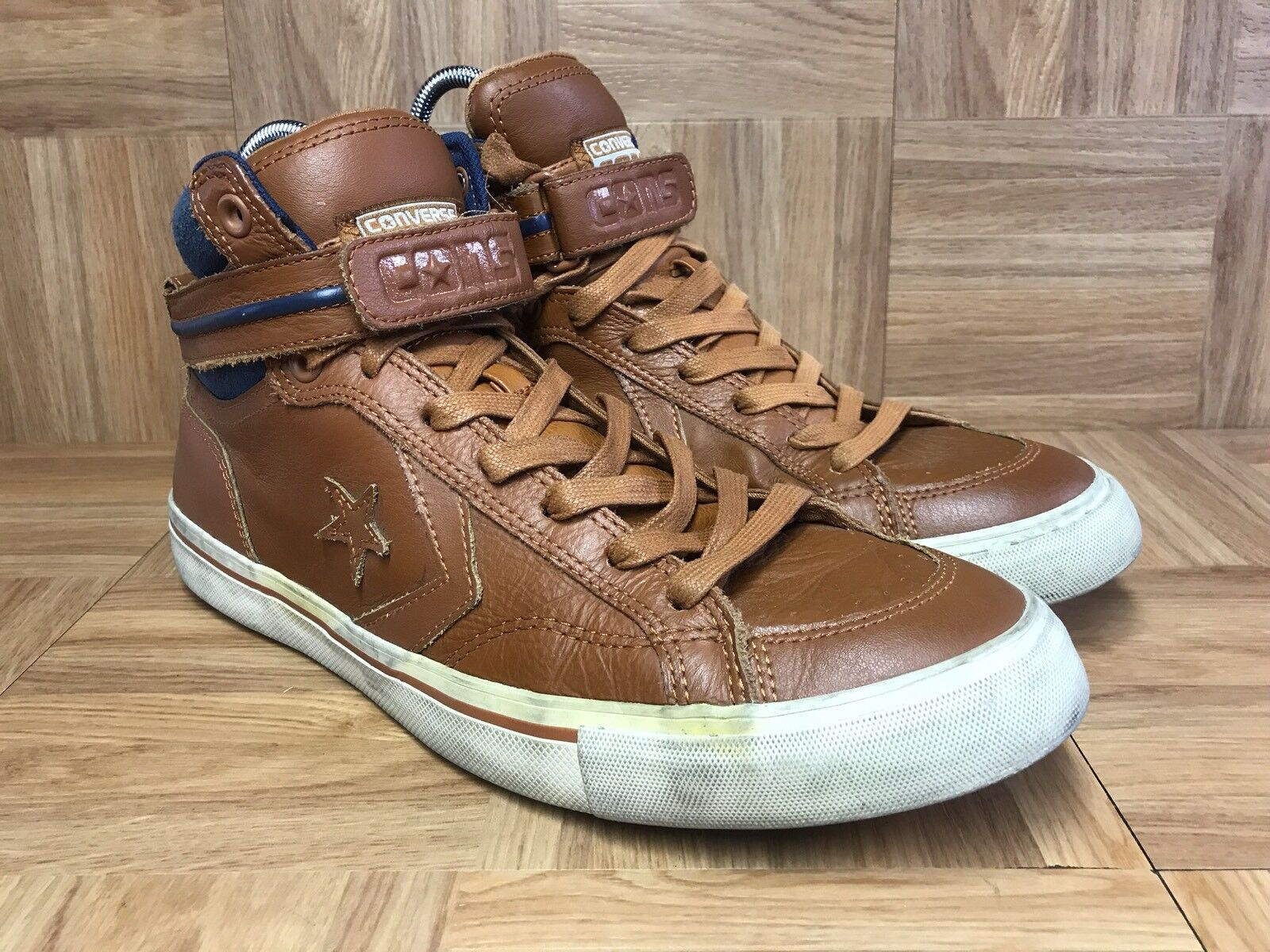 RARE� Converse Chuck Taylor All Star CONS Ankle 11 Strap Ginger Boots Sz 11 Ankle Men's 19db04