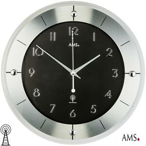 AMS-38-Radio-Reloj-de-pared-Facetado-Cristal-Mineral-oficina-COCINA-981