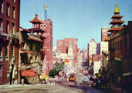 "California /""View Photo 1952 San Francisco California Street/"""