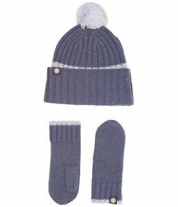 Sterling Baby Beanie /& Mitten Set 6 Pc set 2 Colors