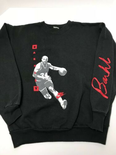 los a Vintage Sweater os Charles de 90 Tag Swoosh Nike Grey Barkely qwX80qr