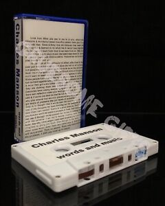 Charles-Manson-Words-and-Music-Cassette-Tape-TPOS-091-Interview-Instrumental