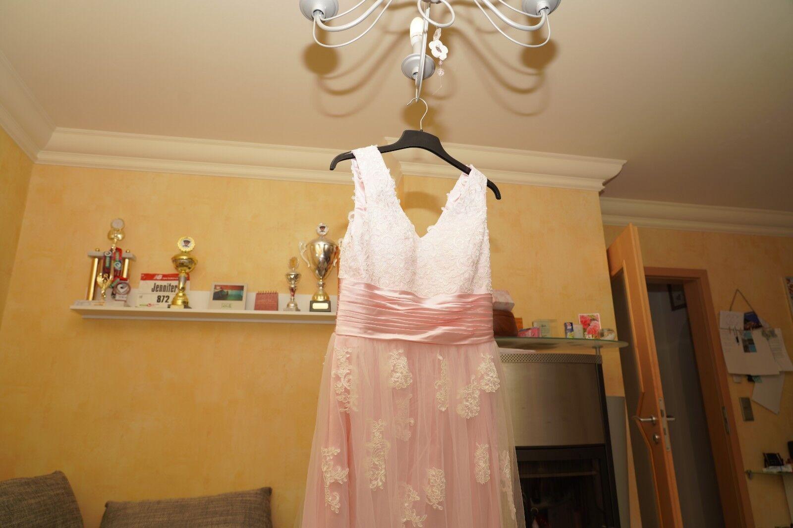 Gorgeous Bride Romantisch Traeger A-Linie Lang Satin Satin Satin Tuell Spitze Abendkleider B | Vogue  86a551