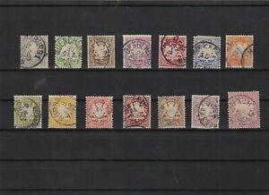 bavaria 1876 used stamps  ref 12427