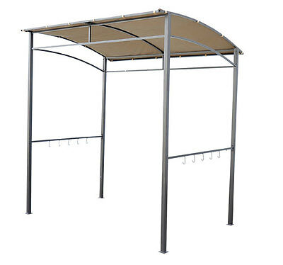 7u0027x5u0027 BBQ Grill Shelter Barbecue Gazebo Curved Patio Canopy Yard Shade ...  sc 1 st  eBay & canopy collection on eBay!