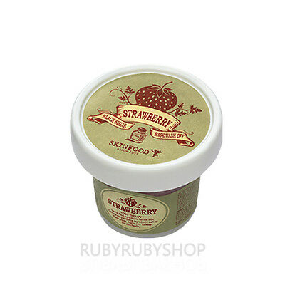 [SKINFOOD] Black Sugar Strawberry Mask Pack - 100g (Wash Off)