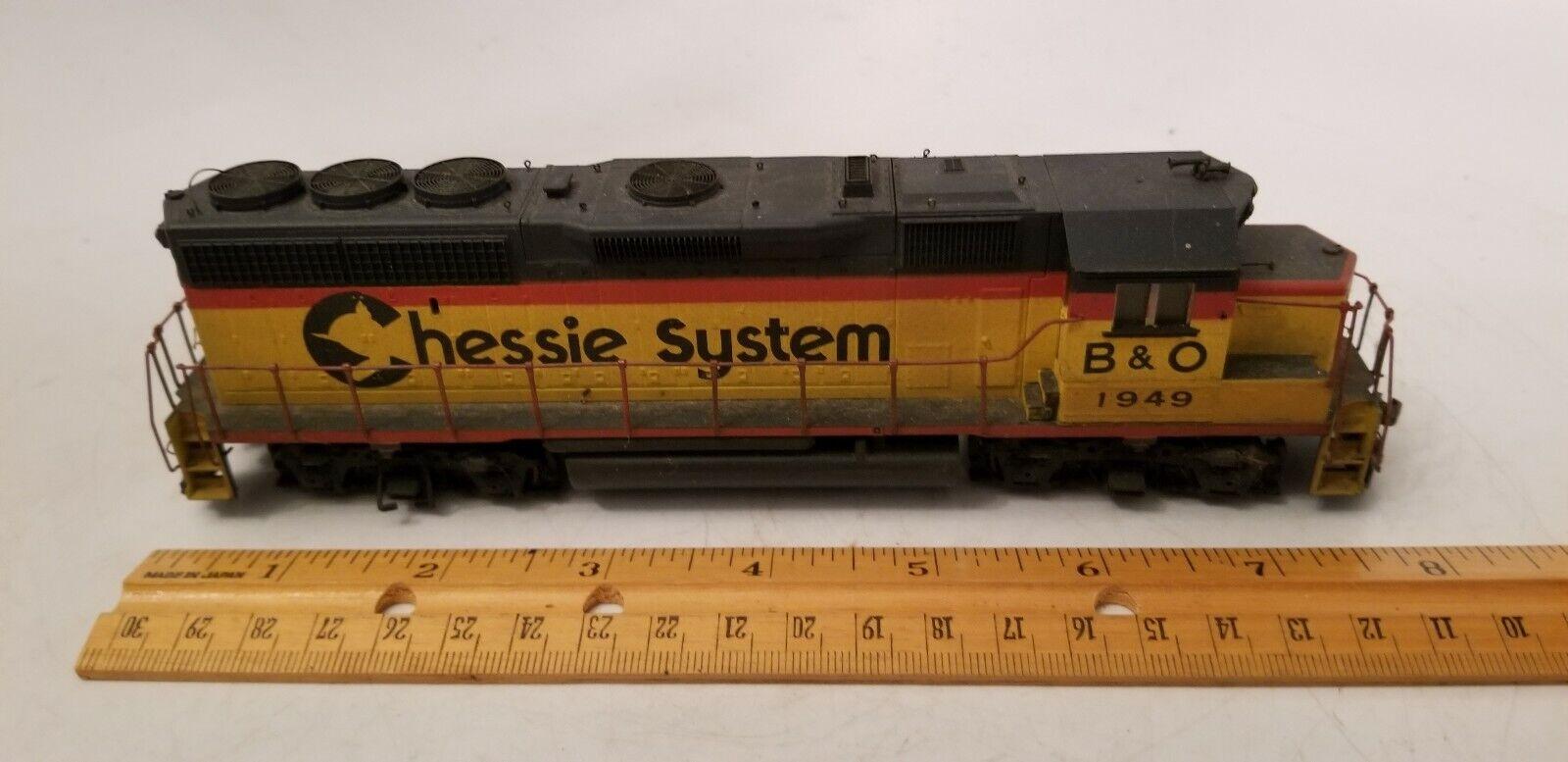 Chessie System Locomotive  B & O    Long