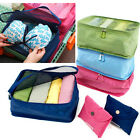 Portable Travel Storage Bags Clothes Packing Cube Luggage Organizer 4 colors