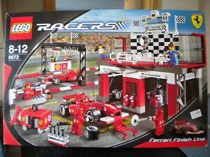 Lego Racers Ferrari Finish Line 8672 Neu Ovp Rarität Ebay