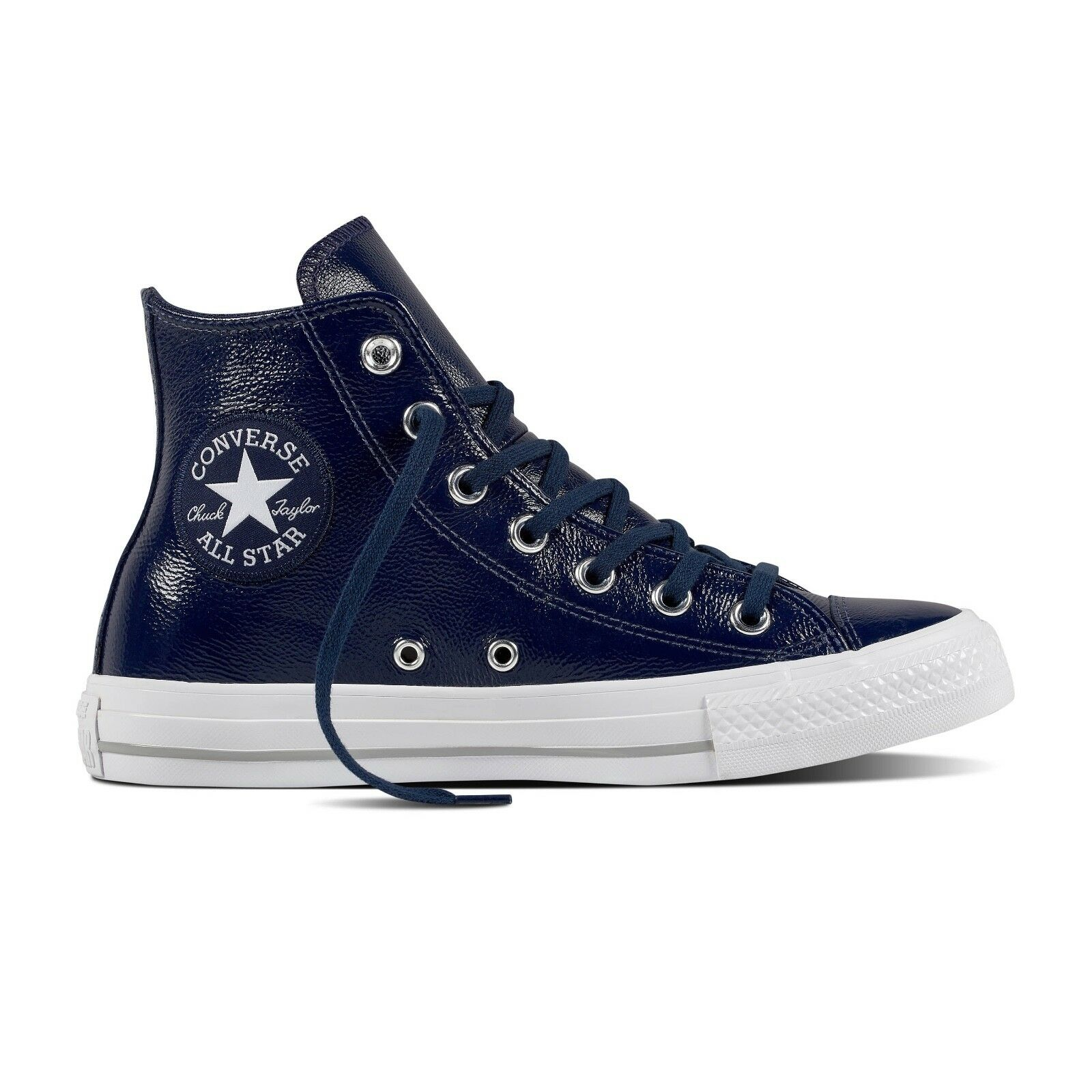 Wouomo Converse Chuck Taylor All Star High  Crinkled Leather  Fashion 557938C